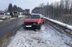 Подробности массовой аварии в Кардымовском районе