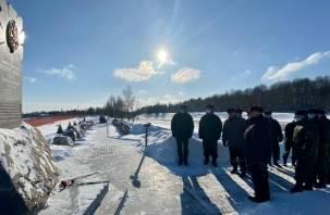 В Смоленском районе сотрудники УФСБ почтили память героя России