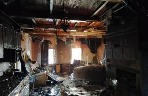 Электротехническая неисправность могла стать причиной двух пожаров в Смоленской области