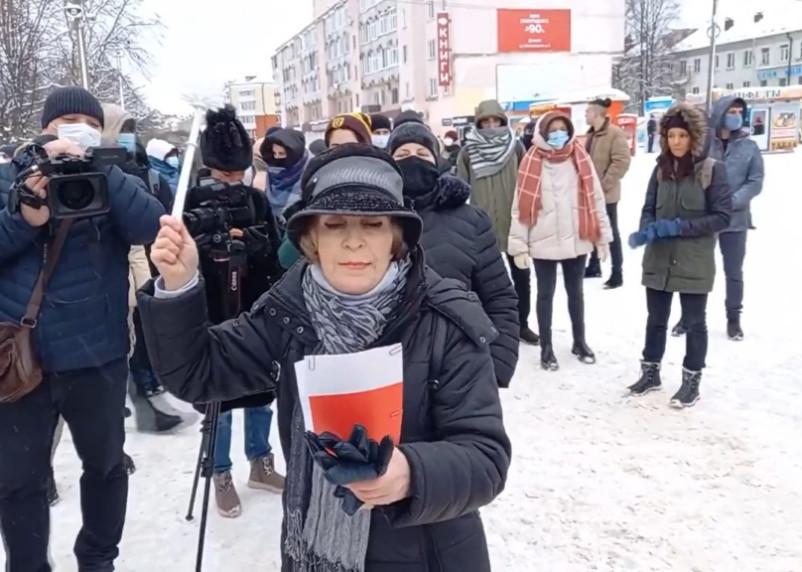 Пенсионерку оштрафовали на 50 тысяч за проведение митингов в Смоленске