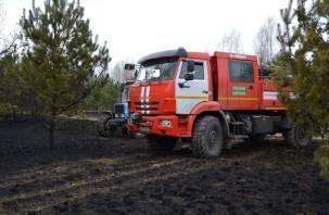 Лесопожарная служба Смоленщины получит новую технику