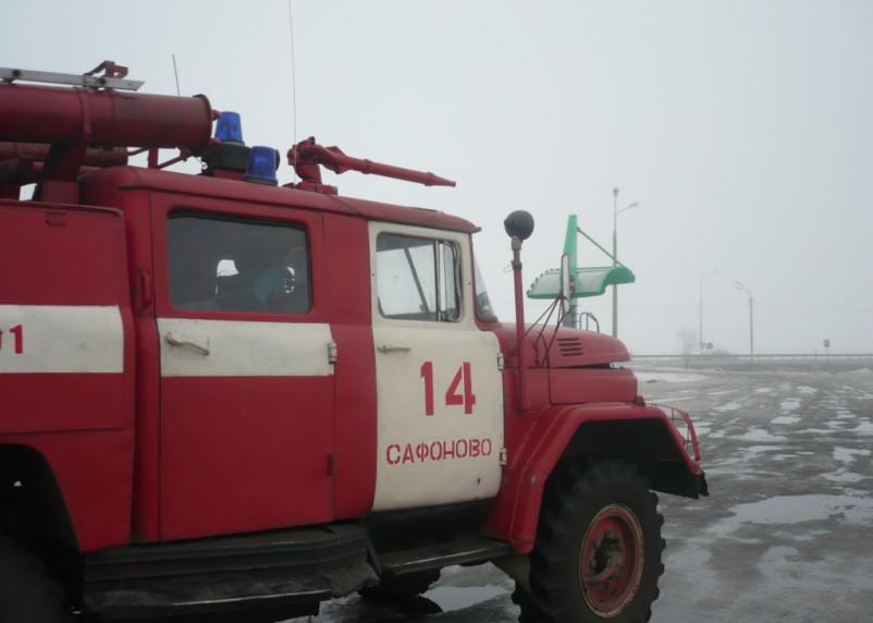 Серьезный пожар в Ершичском районе унес жизнь мужчины