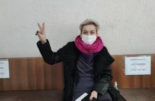 В Смоленске дали 8 суток ареста двум участникам несанкционированного мероприятия