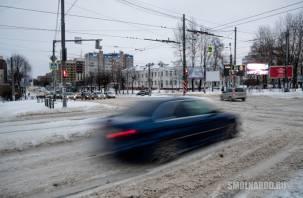 Движение по светофору. Как в Смоленске борются с пробками на дорогах?