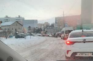 В Смоленске произошел транспортный коллапс