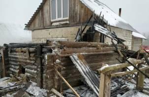 В Руднянском районе пожарные спасли домашних птиц