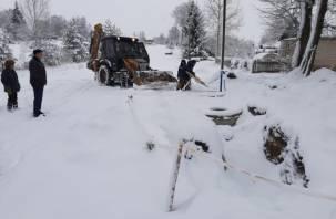 В Смоленской области сорвали сроки строительства системы водоснабжения в Краснинском районе