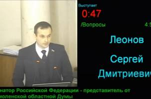 Владимир Жириновский хочет изучить скандальный отчет смоленского сенатора