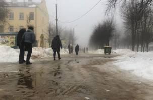 28 февраля в Смоленской области ожидается морось и гололедица