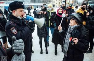 В Смоленске задержали еще одного участника несанкционированной акции в поддержку Навального