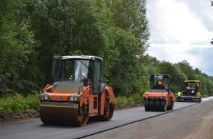 В Гагаринском районе отремонтируют 2 дороги
