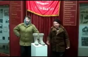 Смолянка стала победительницей всероссийского флешмоба «Валенки»