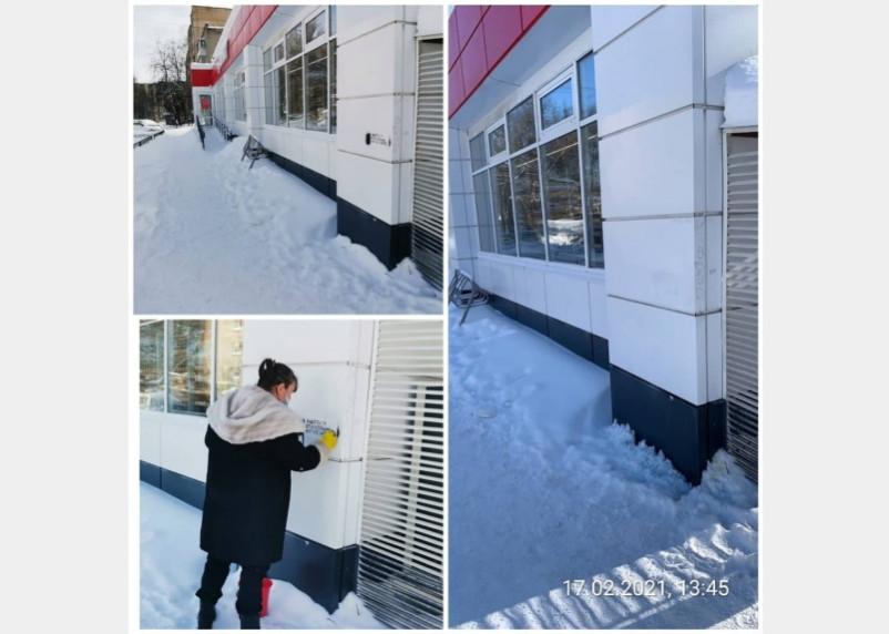 В Смоленске борются с рекламой наркосайтов на фасадах домов