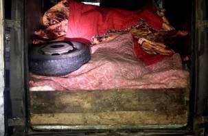 В Смоленской области утилизировали более 3,8 тонн мяса неизвестного происхождения