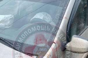 Водитель – в реанимации. Пьяные молодые люди влетели на «Опеле» в «Ларгус» в Смоленске