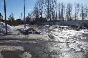 В МКУ «Строитель» не смогли найти подрядчика на улицу Генерала Трошева