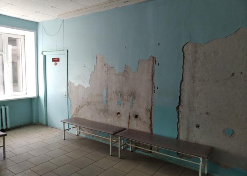 Смолян шокировали стены кардиолога в поликлинике