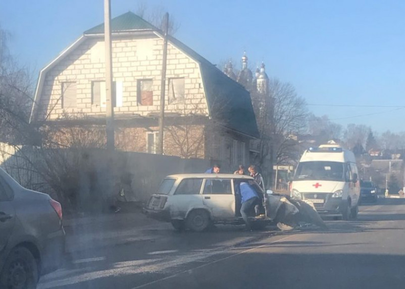 Появилось видео последствий ДТП на Соболева