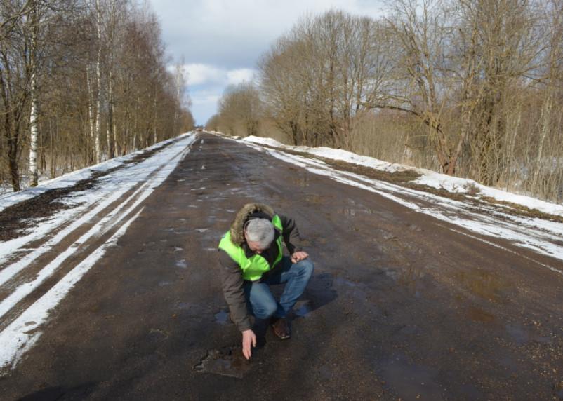 В Смоленской области общественники проинспектировали один из самых протяженных объектов этого года