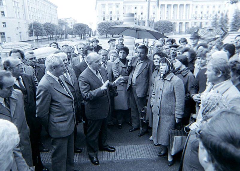 Михаилу Горбачеву 90 лет. Вспоминаем визит последнего президента СССР в Смоленск