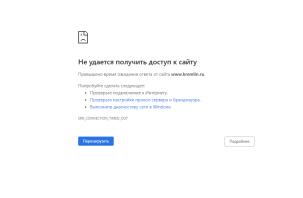Россияне жалуются на сбои в работе государственных сайтов