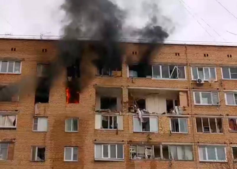 Двое детей – под завалами.  Подробности взрыва в жилом доме в Московской области