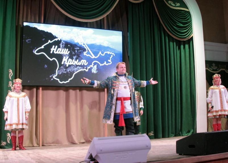 В Смоленске встретили «Крымскую весну» в условиях ковида и по билетам