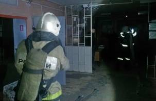 В Ярцеве тушили пожар на Литейной