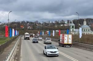 В Смоленске празднично оформляют улицы