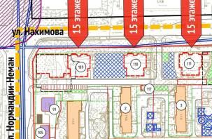 В Смоленске собирают подписи против строительства высоток на Нахимова