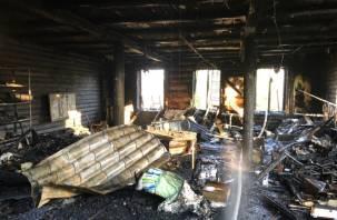 Неисправность дымохода печи лишило вязьмичей дома