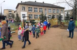 В Ярцеве эвакуировали ребят из детского сада