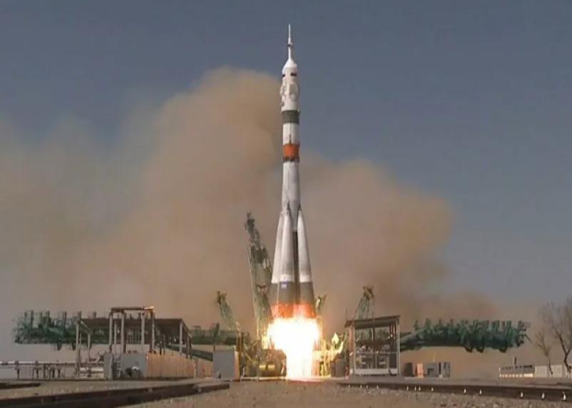 Космический корабль «Ю.А. Гагарин» вывели на орбиту