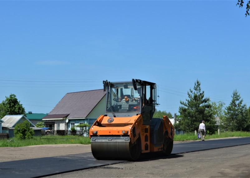 В Смоленском районе отремонтируют по нацпроекту три участка дорог