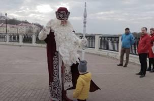 Бесплатно — в сказках. Стала известна стоимость приема Деда Мороза в Смоленске