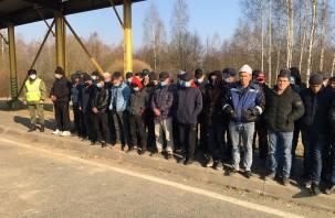 200 иностранцев пытались нелегально пересечь границу в Смоленской области