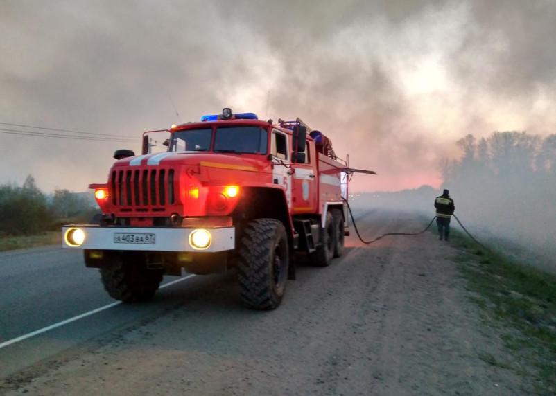 Мужчина пострадал в результате пожара в Смоленской области