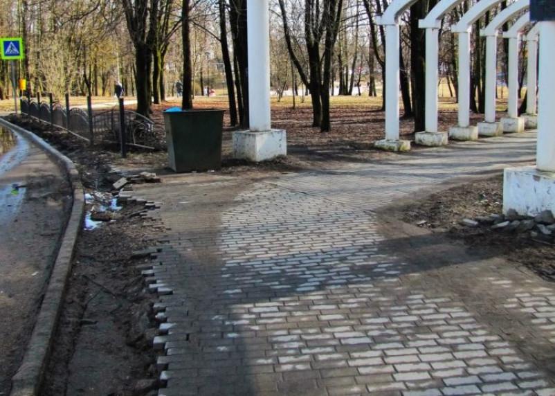 Смоляне жалуются на развалины парка 1100-летия Смоленска
