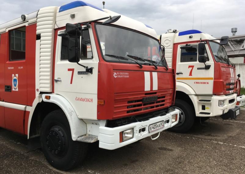 В Смоленске в пожаре погиб 62-летний мужчина