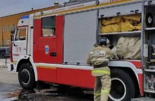 Мать с шестью детьми лишилась крова из-за пожара в Гагаринском районе