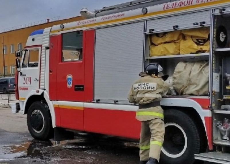В Смоленске произошел пожар в квартире