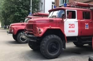 В Смоленске в пятиэтажке на Николаева вспыхнул пожар