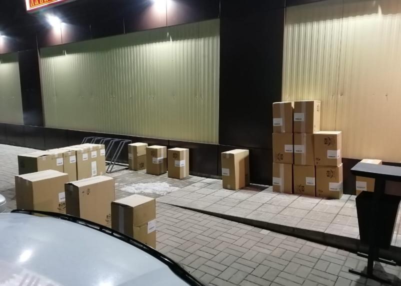 В Смоленской области поймали УАЗ с нелегальными сигаретами на 600 тысяч рублей