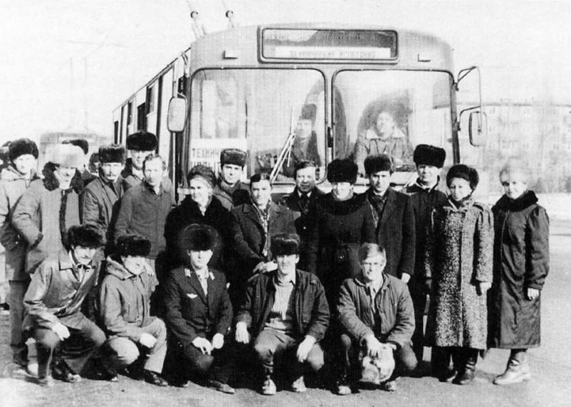 В Смоленске 30 лет назад открыли первый троллейбусный маршрут