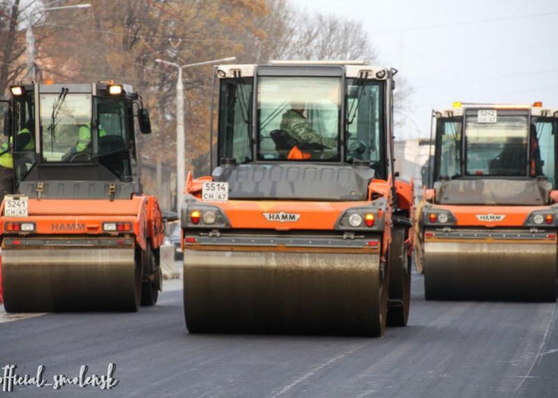 В Смоленске начинается ремонт дорог на улицах Студенческая, Большая Краснофлотская и Глинки