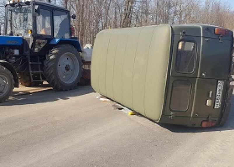 Две женщины пострадали в результате ДТП в Смоленской области
