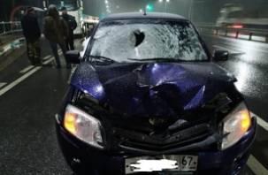 Гранта сбила насмерть пешехода в Вяземском районе