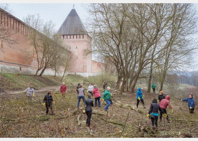 В Смоленске стартовал экологический месячник