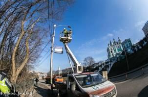 В Смоленске установят 150 новых светильников на школьных территориях