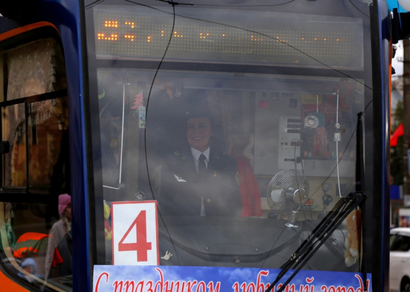 В Смоленске сегодня запустят трамвай Победы
